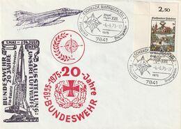 """Bundesrepublik Deutschland / 1975 / Sonderbrief """"Bundeswehr"""", SSt. """"Eschbach"""" (CE64) - Covers"""