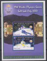 Olympics 2002 - Olympiques - Ski - PALAU - S/S MNH - Winter 2002: Salt Lake City