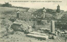 Alise-Sainte-Reine; Les Fouilles Près De La Croix St-Charles. Entrée Dún Temple - Non Voyagé. (Laurent-Blanche, Alise) - Venarey Les Laumes