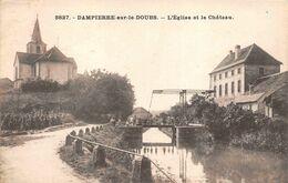 Dampierre Sur Le Doubs Canton Pont De Roide Près Montbéliard 9827 CLB Canal Rhin Rhône Péniches Péniche - Otros Municipios