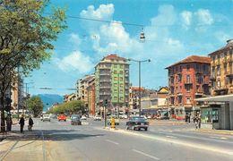 "010875 ""TO - P.ZZA SABOTINO E C.SO PESCHIERA"" ANIMATA, AUTO FIAT 600-1300- VW. S.A.C.A.T.  CART NON SPED - Places & Squares"