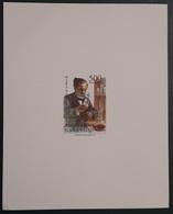 GABON 1995 YT 856B LOUIS PASTEUR NOBEL PRIZE ANNIVERSAIRE DE LA MORT - DELUXE PROOF EPREUVE DE LUXE - ULTRA RARE - Louis Pasteur