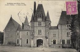 18 AUBIGNY-SUR-NERE  - Ancien Château - L'Hôtel De Ville - Aubigny Sur Nere
