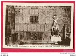 CPA (Réf : U 500) LE CHALARD (87 HAUTE VIENNE) Intérieur De L'Église - Armoire Des Reliques De Saint Geoffroy - Otros Municipios