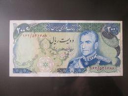 Iran 200 Rials 1974-1979 Banknote In Good Conditions - Iran