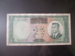 Iran 50 Rials 1962 Banknote - Iran