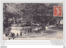 """Cpa  Réf Z0.887  ( Dép 81 )   à  LABRUGUIERE   """"""""""""""""   Le Kiosque Et La Musique  D'Artillerie """""""""""" - Labruguière"""