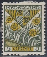 Netherlands, Scott #B22, Mint Hinged, Coat Of Arms, Issued 1927 - Periodo 1891 – 1948 (Wilhelmina)