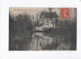 CPA  -  La Crue De L'Oise à Butry En Mars 1910 - Le Chemin De La Rivière - Butry