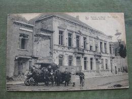 MENIN - RUE D'YPRES 1919 ( Feldpost - 2 Scans ) - Menen