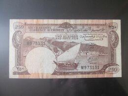Yemen Democratic Republic 250 Fils 1965 Banknote - Jemen