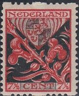 Netherlands, Scott #B23, Mint Hinged, Coat Of Arms, Issued 1927 - Periodo 1891 – 1948 (Wilhelmina)