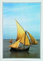Inde Bateau à Voiles Sur Le Delta Du Gange    Années 80s - Bangladesh