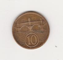 10 HELLER 1928 BRONZE - Tchécoslovaquie