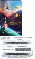 GREECE - Cinema/Treasure Planet(Disney), Free Fone Promotion Prepaid Card, Tirage 1000, Exp.date 31/12/03, Sample - Film