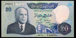 # # # Banknote Tunesien (Tunisia) 20 Dinare 1983 UNC- # # # - Tunisia