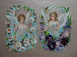 2 Grands Découpis Anges - Angels