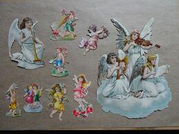 9  Découpis Anges - Angels