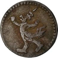 Monnaie, Cambodge, 2 Pe, 1/2 Fuang, 1880, TTB, Billon, KM:26 - Cambogia