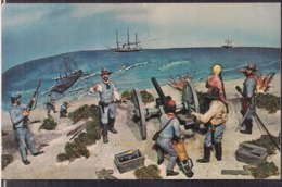 C. Postale - Blockade Runner Museum - Circa 1950 - Non Circulee - A1RR2 - Carolina Beach