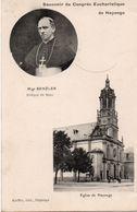 Hayange X 2 - Cité Bellevue - Congrès Eucharistique 1911 - Benzler - église - Hayange