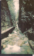 C. Postale - Franconia Notch - White Mountains - The Flume Garge - Circa 1950 - Non Circulee - A1RR2 - Etats-Unis
