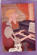 DISNEY  Les 101 Dalmatiens Roger Au Piano - Disneyworld