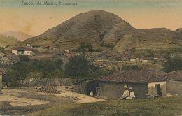 Honduras . Pueblo De Manto. Hand Colored  Edicion P. Maier San Pedro Sula - Honduras