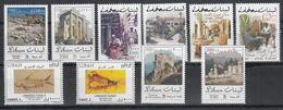 2002 LEBANON Defenetives Issue - Souks, Ruins Fortress Complete Set 10 Values MNH - Libano