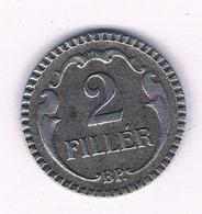 2 FILLER 1940  HONGARIJE /5697/ - Hungría