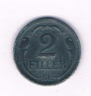 2 FILLER 1943  HONGARIJE /5698/ - Hungría