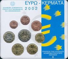 Greece Euro Coins Set 2002 - Grèce