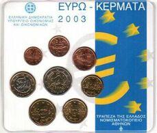 Greece Euro Coins Set 2003 - Grèce