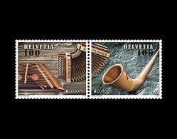 Switzerland 2014 - Europa C.E.P.T. Stamp Set Mnh - 2014