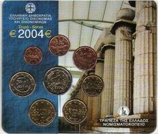 Greece Euro Coins Set 2004 - Grèce