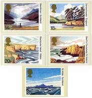 GB GREAT BRITAIN 1981 MINT PHQ CARDS BRITISH LANDSCAPES 52 GLENNFINNAN DERWENTWATER STACKPOLE ST KILDA GIANTS CAUSEWAY - Geology