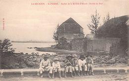 ILE DE LA REUNION  - Saint Pierre - Radier De La Riviere D'Abord - Entrée Du Port - Saint Pierre
