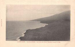 ILE DE LA REUNION  - Le Grand Brulé - Les Laves Du Volcan S'étendent Jusqu'à La Mer - La Réunion