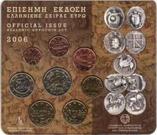 Greece Euro Coins Set 2006 - Grèce