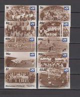 Tuvalu - Nanumea 1986 Football Soccer World Cup 10 Stamps MNH - Coupe Du Monde