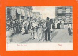 Heyst  -  Corso Des Fleurs  -   (petite Fille à Dos D'âne)  2 Scans - Heist