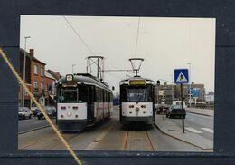 TRAM DE LIJN GENT 60 EXTRA DIENST MELLE LEEUW TERMINUS LIJN 21 - Trains
