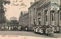 Libin  Ecoles Des Filles Animée Circulé En 1910 - Libin
