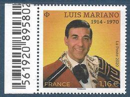 5412 Luis Mariano BDF (2020) Neuf** - Neufs