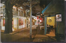C. Postale - Streets Of Old Milwaukee - Milwaukee  Public Museum - Circa 1960 - Non Circulee - A1RR2 - Milwaukee