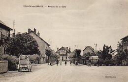 S30-034 Toulon Sur Arroux - Avenue De La Gare - Autres Communes