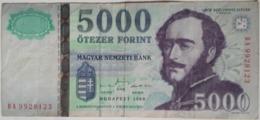 HUNGARY : 5000 FORINT 1999 GRÖF SZCHENYI ISTVAN - Hungary