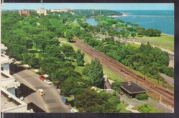 C. Postale - View Of The Lake Front - Circa 1960 - Non Circulee - A1RR2 - Milwaukee