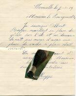 HERMALLE SOUS ARGENTEAU / LETTRE / DOCUMENT ANCIEN / 1929 / FERMIER / - Historische Dokumente