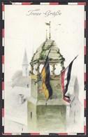 AK 1915 Treue Grüße WW1 Kriegsjahr Feldpost   (26693 - Militaria